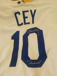 Ron cey Jersey signed Camarillo, 93010