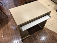 Rectangular wooden desk with pullout drawer 789 km