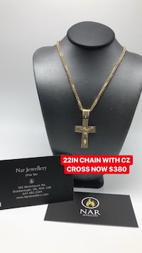 10K GOLD 22IN WITH CROSS Toronto, M1K 1N8