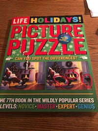 Picture Puzzle Book spotting Differences Hudson, 01749