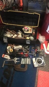 assorted manual hand tools