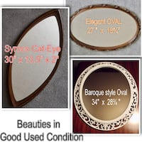 3 Fabulous Wall mirrors ......Various prices