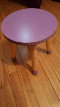 Small Purple Circle Children's Stool Niagara Falls, L2G 2B6