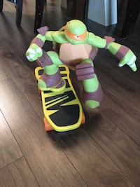 Michelangelo ninja turtles rotating toy Langley, V3A 1M4