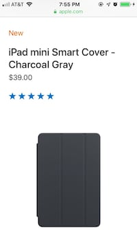 iPad mini 4 Smart Cover gray