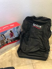 black Britax bag with box
