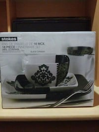 Stokes 16 piece dinner set  Mississauga, L5W 1G6