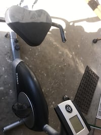 black and gray stationary bike Fresno, 93722