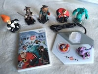 Nintendo Wii Disney Infinity figures with game disc and portal.  Langley, V1M 2E6
