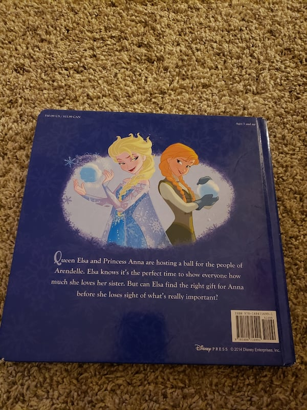 Disney Frozen Elsa's Gift Book 1