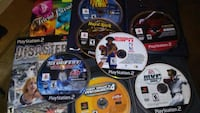 Several PS2 games all for $10 Texas City, 77590