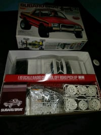 red and white Hess truck toy with box Pasadena, 21122