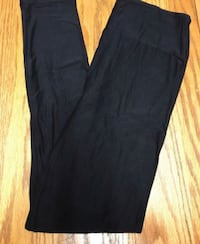 Solid black Lularoe leggings OS Ranson, 25438