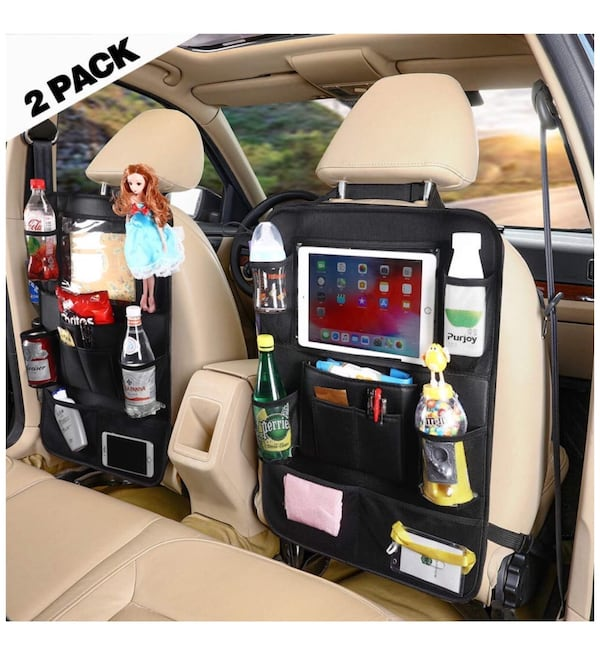 Brand new Car Back Seat Organizer for Kids (2pack ) 72dc0bfc-9138-44d2-a7e9-85231203fbc0