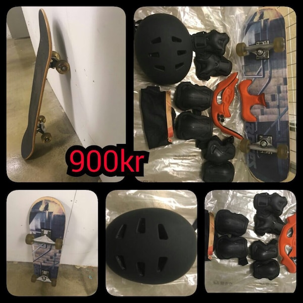 Skateboard and equipment for sale in very good condition