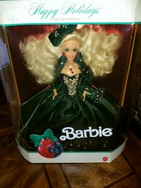Barbie Happy Holidays special edition doll box Brea, 92821
