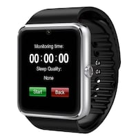 GT08 Smart Watch Touch Screen Cam For iOS Android LONDON