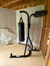 Everlast PowerCore Heavy Bag and Stand North Potomac, 20878