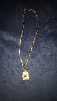 Gold necklace with pendant Lodi, 07644