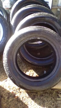 195/65/15 tire with black rubber tire Calgary, T2H 1W1