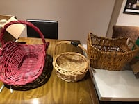Lot of large baskets - like new Vaughan, L4H 0C5