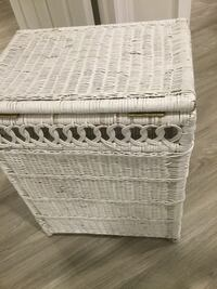 Laundry wicker basket. Used but still good . Can use paint Oakville, L6H