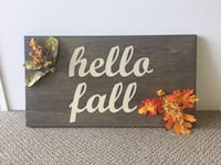 Hello fall sign Bluffdale, 84065