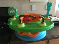 baby's green and blue activity saucer El Paso, 79934