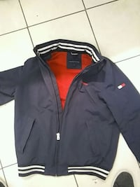 black and red zip-up jacket Mississauga, L4Z 2Y8