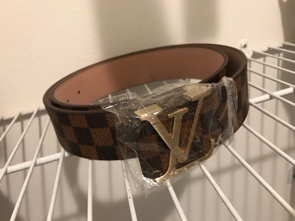 87716a2a2990 Used black and brown Louis Vuitton belt for sale in Palm Beach Gardens -  letgo
