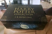Harry Potter collection box with 7 books  Oakville, L6H 1A6