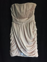 Size 6 pale pink dress Edmonton, T5A 2X5