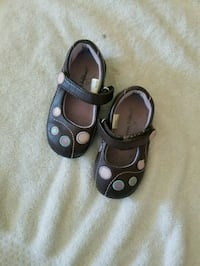 Toddler girl polka dot shoes size #6c Chicago, 60652