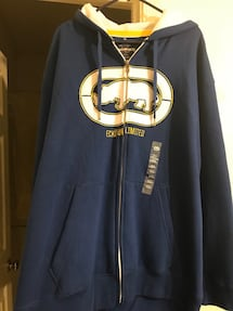 BRAND NEW MENS ECKO ZIP UP HOODIE WITH TAGS