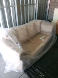 Cream couch comes couch cushions  Queen Creek, 85142