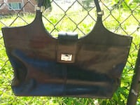 A. Giannetti Genuine Leather Handbag Washington