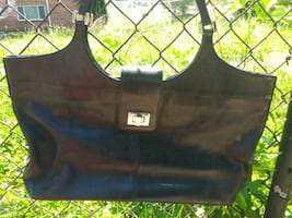 A. Giannetti Genuine Leather Handbag