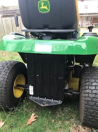 black and green ride on lawn mower Springfield, 22150