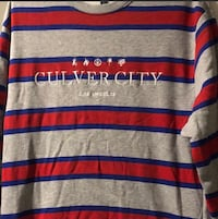 Men's sweatshirt H&M Culver City red blue grey Harrisburg, 17110