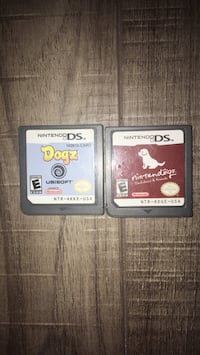 Two nintendo ds game cartridges St Albert, T8N 6E8