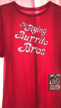 Flying Burrito Bros T-shirt. Size large Springfield, 22153
