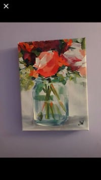 orange, red, and white flowers painting screenshot Chesterfield, 63017