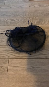Blue fascinator with headband Vaughan, L6A 1S2