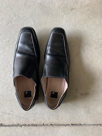 Size 12-Black Leather Dress Shoes Murray, 84123