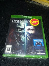 Xbox One Dishonored 2 game case White Rock, V4B 2L6