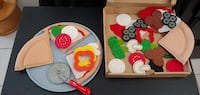 Melissa and Doug Kids Felt Build a Pizza in Delivery Box Play Food Myrtle Beach