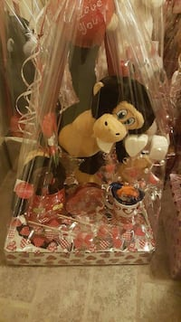 brown and beige monkey plush toy gift set El Paso, 79924