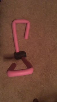 red and black exercise equipment Zimmerman, 55398