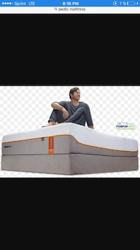 Mattress tempur pedic only 2 mes