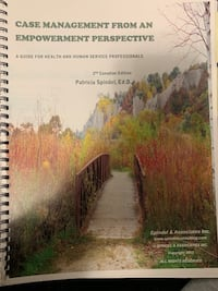 Case Management from an Empowerment Perspective TEXTBOOK NO MARKINGS Toronto, M5K 2A1